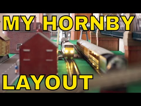 My Hornby OO SCARM Layout, Hornby Trains, Bachmann Trains, Skaledale Buildings