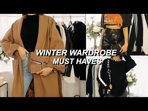 WINTER WARDROBE MUST HAVES!   My Favourite Winter Pieces ~
