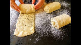 Так вы еще не готовили Необычный масляный слоеный хлеб