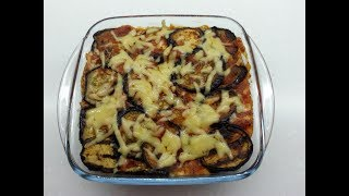 Запеканка из баклажанов Баклажаны с сыром и помидорами Простой рецепт