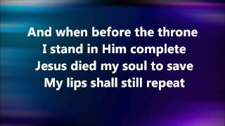 Kristian Stanfill - Jesus Paid It All With Lyrics HD