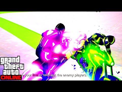 TRON GAME MODE DEADLINE GTA V ONLINE MAKING MONEY
