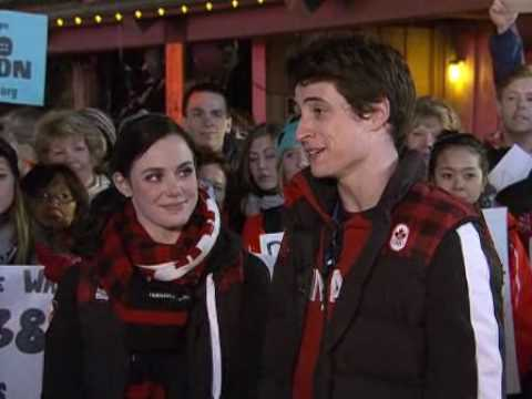 Virtue & Moir on the Today Show