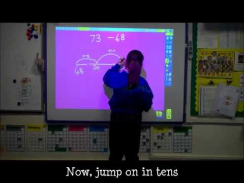 Subtraction Using An Empty Number Line Worksheets - empty number ...