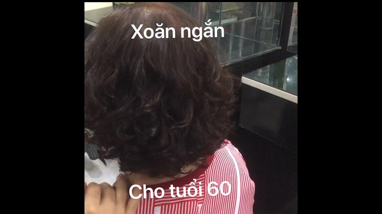 XOĂN NGẮN CHO TUỔI 60 , kythuatlamtoc