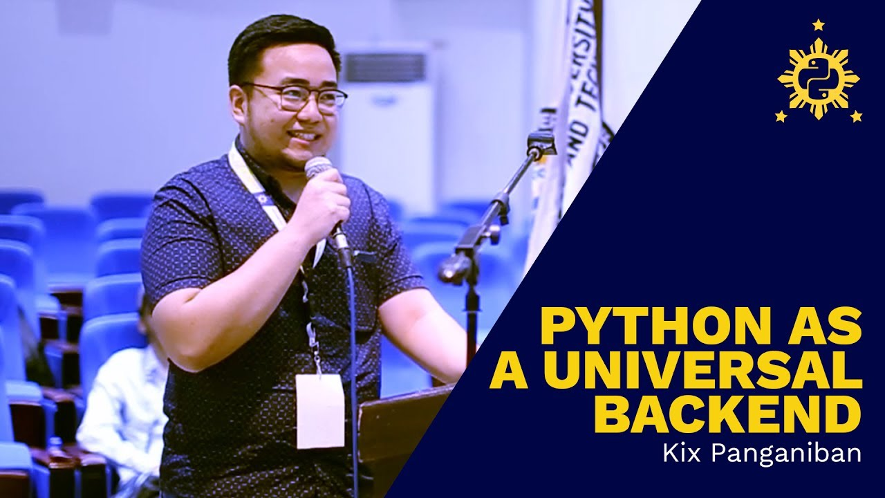 Image from PyCon PH 2017 - Python as a Universal Backend by Kix Panganiban