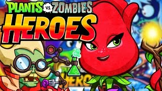 ROSE HERO CRAZY CASTLE BOSS BATTLE!! | Special (RED) Event! | Best New PVZ Game IOS!