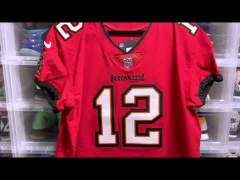 Tom Brady Nike Elite Vapor Untouchable Tampa Bay Buccaneers Jersey Red