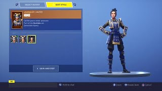 FORTNITE: HIMI Skin *NEW* Selectable Styles!