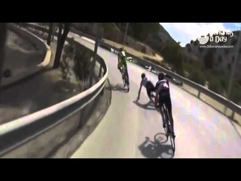Ryder Hesjedal use an engine on his Cervelo? Vuelta 2014 crash
