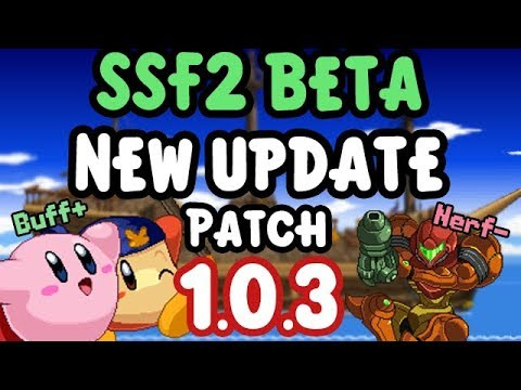 SSF2 Beta New Update 1.0.3 Patch overview of New Content!