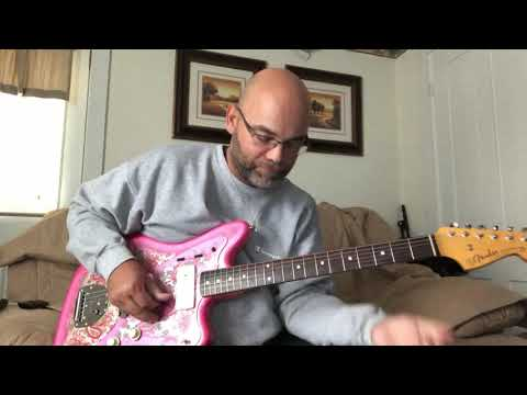 Fender MIJ Jazzmaster - Lovepedal Monkey Fist Fuzz - Quilter ToneBlock 200