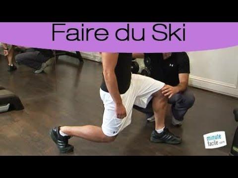 Préparation physique pour le ski : les fentes