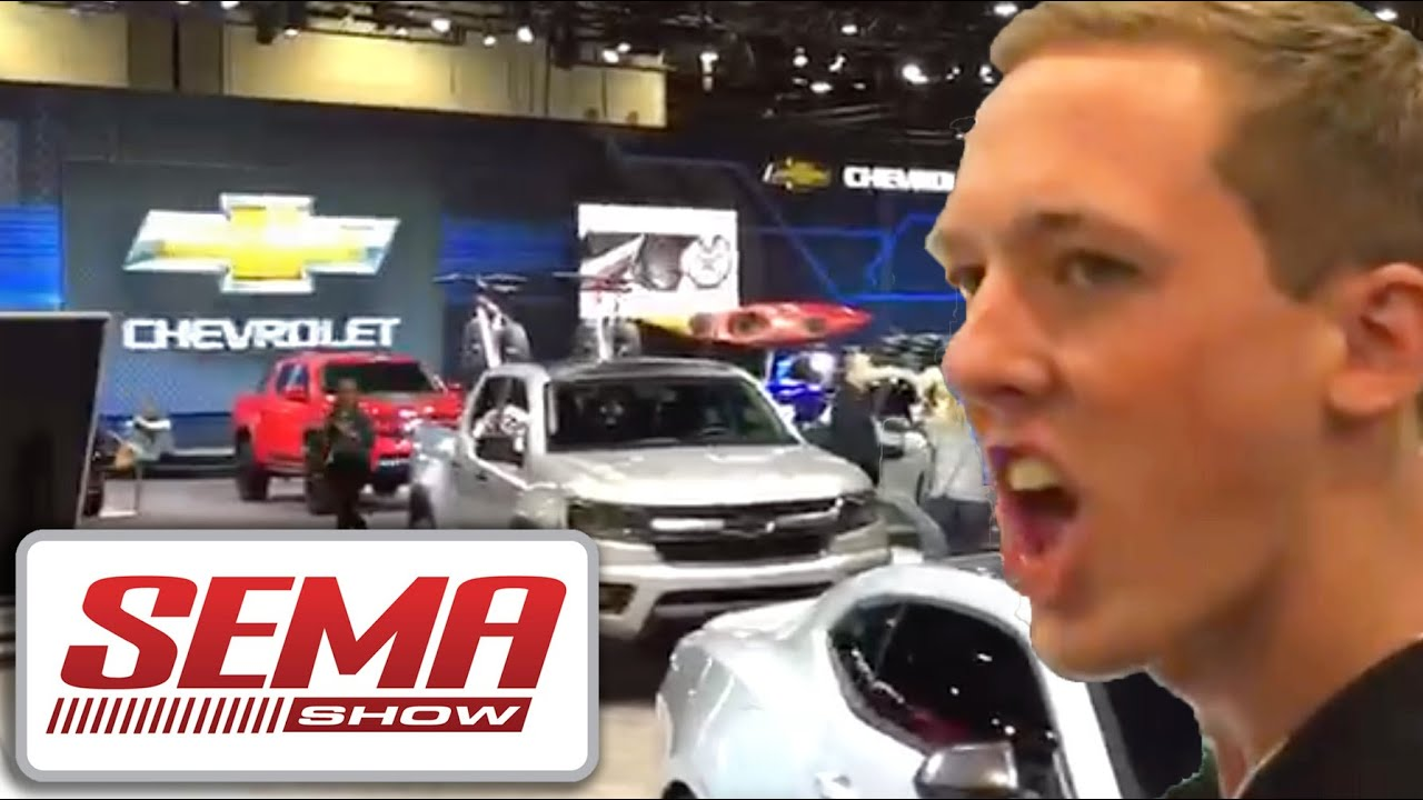 Cleetus Mcfarland Goes To Sema 2015