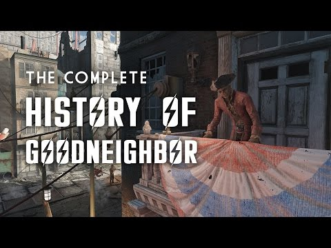 The Complete History of Goodneighbor and the Old State House in Fallout 4
