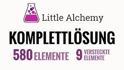 Little Alchemy Komplettlösung deutsch [alle 580 Elemente, 9 Hidden Gems]