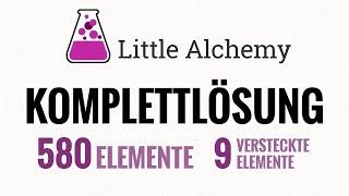 Little Alchemy KOMPLETTLÖSUNG [alle 580 Elemente]