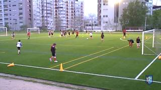 Sl Benfica U13 4 V 2 Attacking | Counter-attacking | Defending | Transition | Possession | Finishing