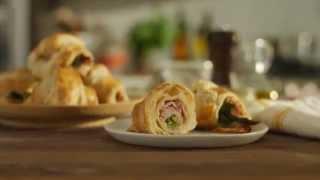 Black Forest Ham & Asparagus Croissants