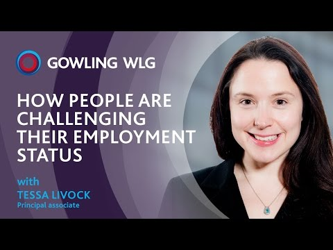How people are challenging their employment status