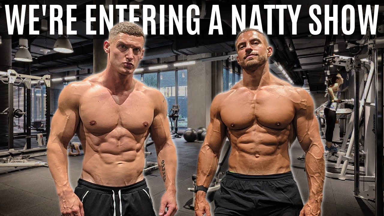 We're entering a NATURAL bodybuilding show ft. Mike Thurston