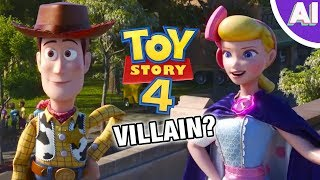 Is Bo Peep the VILLAIN of Toy Story 4 Animation Investigation