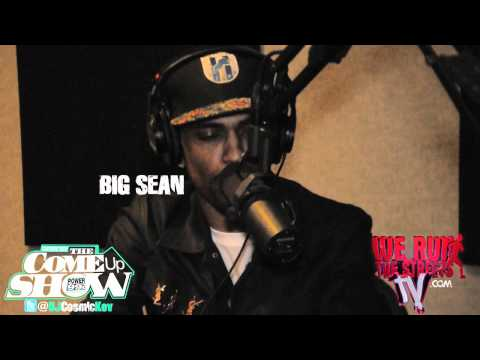 BIG SEAN ON COSMIC KEV COME UP SHOW GOING IN CRAZY FREESTYLE