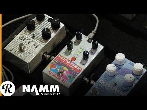 Alexander Syntax Error at Summer NAMM 2017