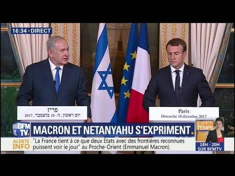 """Jérusalem est la capitale d'Israël"", affirme Benjamin Netanyahu"