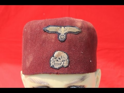 WW2 German SS Handschar Division Fez