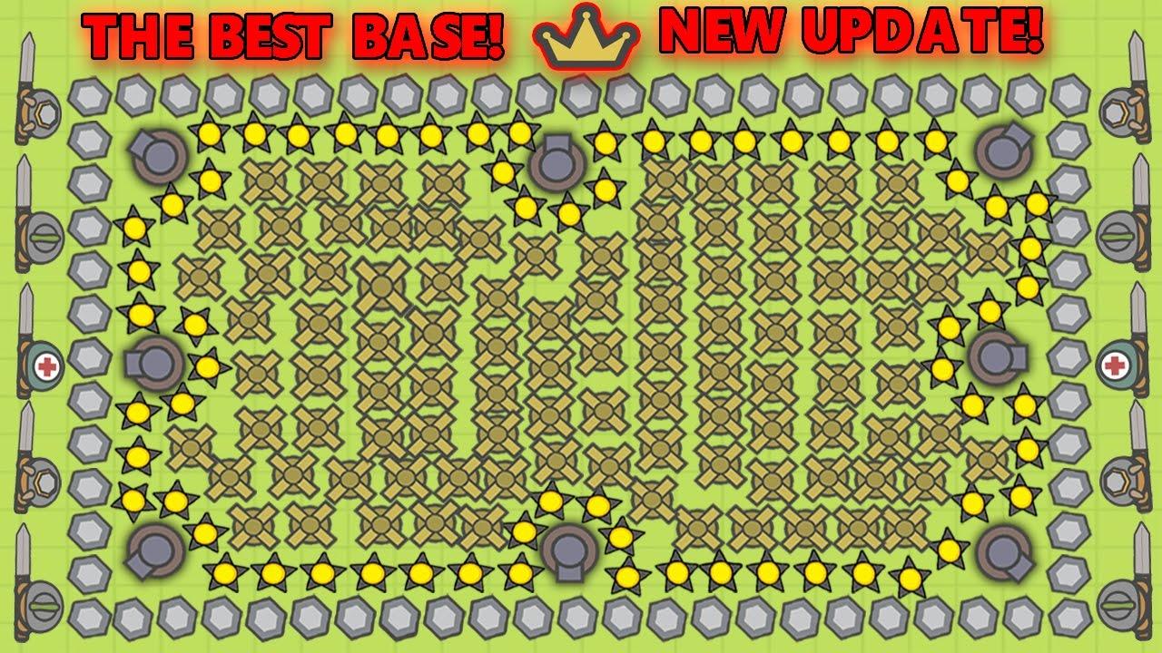 Moomoo Io The Most Defensive Best Base New Hats Abilities New Update Moomoo Io Youtube