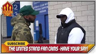 MAN UTD 10 UNBEATEN! Leicester 0-1 Manchester United Fancam