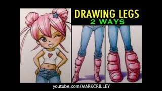 Drawing Legs: Two Ways
