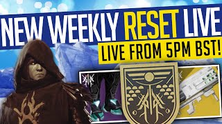 Destiny 2 | NEW WEEKLY RESET LIVE! Beyond Light, Eververse Update & More! (1st Dec)