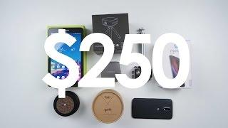 best tech under 250 july 2016