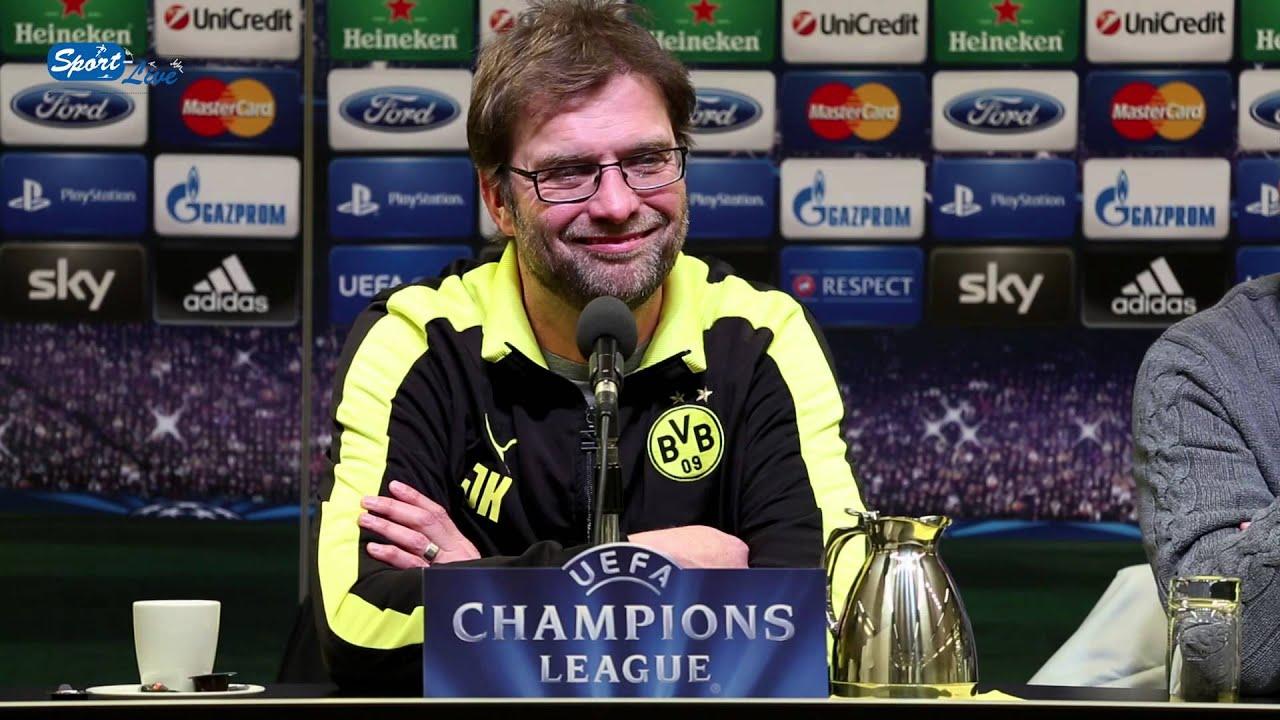 BVB Pressekonferenz vom 04. März 2013 vor dem Spiel Borussia Dortmund gegen Schachtar Donezk