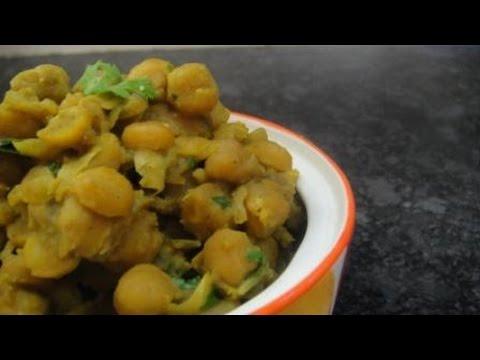 Masala Sundal | Masala Channa | Spicy Snacks | Recipe | English Subtitles | Gowri Samayalarai
