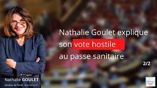 Nathalie Goulet explique son vote hostile au passe sanitaire