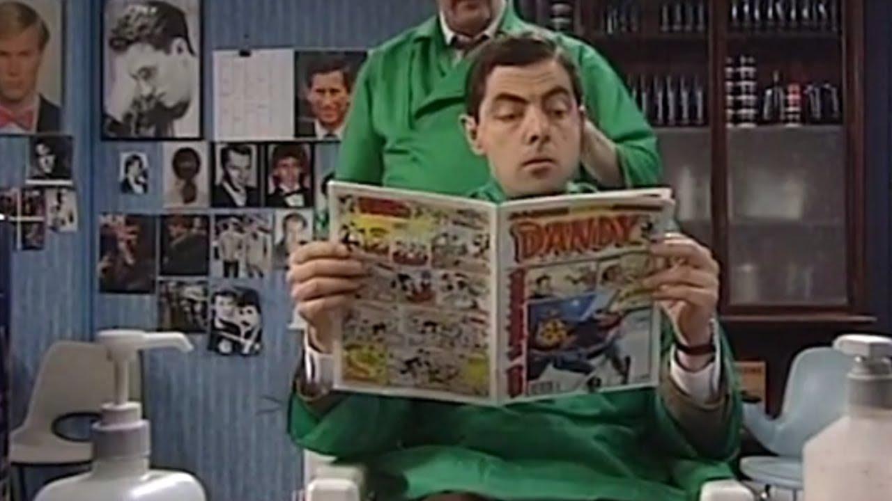 Shave shop Mr. Bean || Mr. Bean Seris