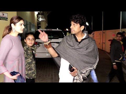 Raveena Tandon With Daughter Rasha Thadani & Sonu Nigam Spotted At Juhu PVR Cinema Mp3