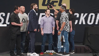 UFC Summer Kickoff Press Conference Face-Offs - MMA Fighting