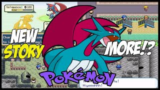 New Incomplete Pokemon Gba Rom Hack With New region, New Story, Z moves and More !?