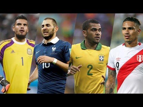 Cracks que se Perderán el Mundial Rusia 2018 FT. David Luiz, Benzema, Paolo, Romero, Morata, & Mas