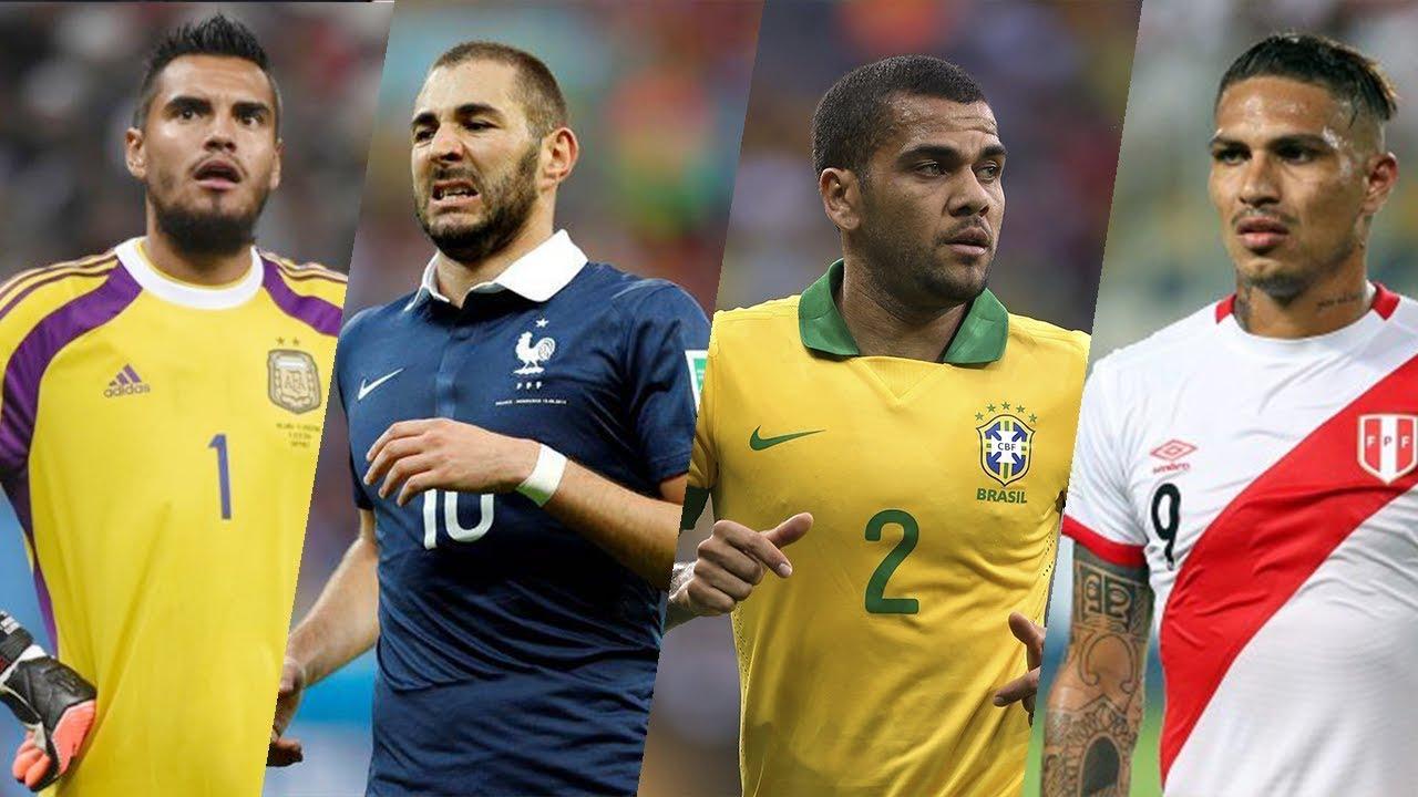 Cracks que se Perderán el Mundial Rusia 2018 FT. David Luiz, Benzema, Paolo, Romero, Morata, & M