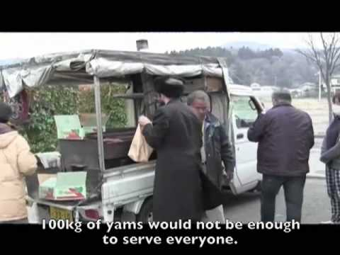 Chabad Japan Relief Efforts to Iwanuma, Watari, Yamamoto, Sendai Tsunami Refugees- Part 1