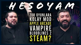 Vampire, Zor Oyunlara Kolay Mod? Bloodlines 2, Apple Arcade, Steam - PintiPanda ve CS #HESOYAM