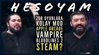 Vampire, Zor Oyunlara Kolay Mod? Bloodlines 2, Apple Arcade, Steam - PintiPanda ve CS #HESOYAM