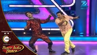 Dance India Dance Season 3 - Raghav and Akshay Kumar's Funny Slow Motion