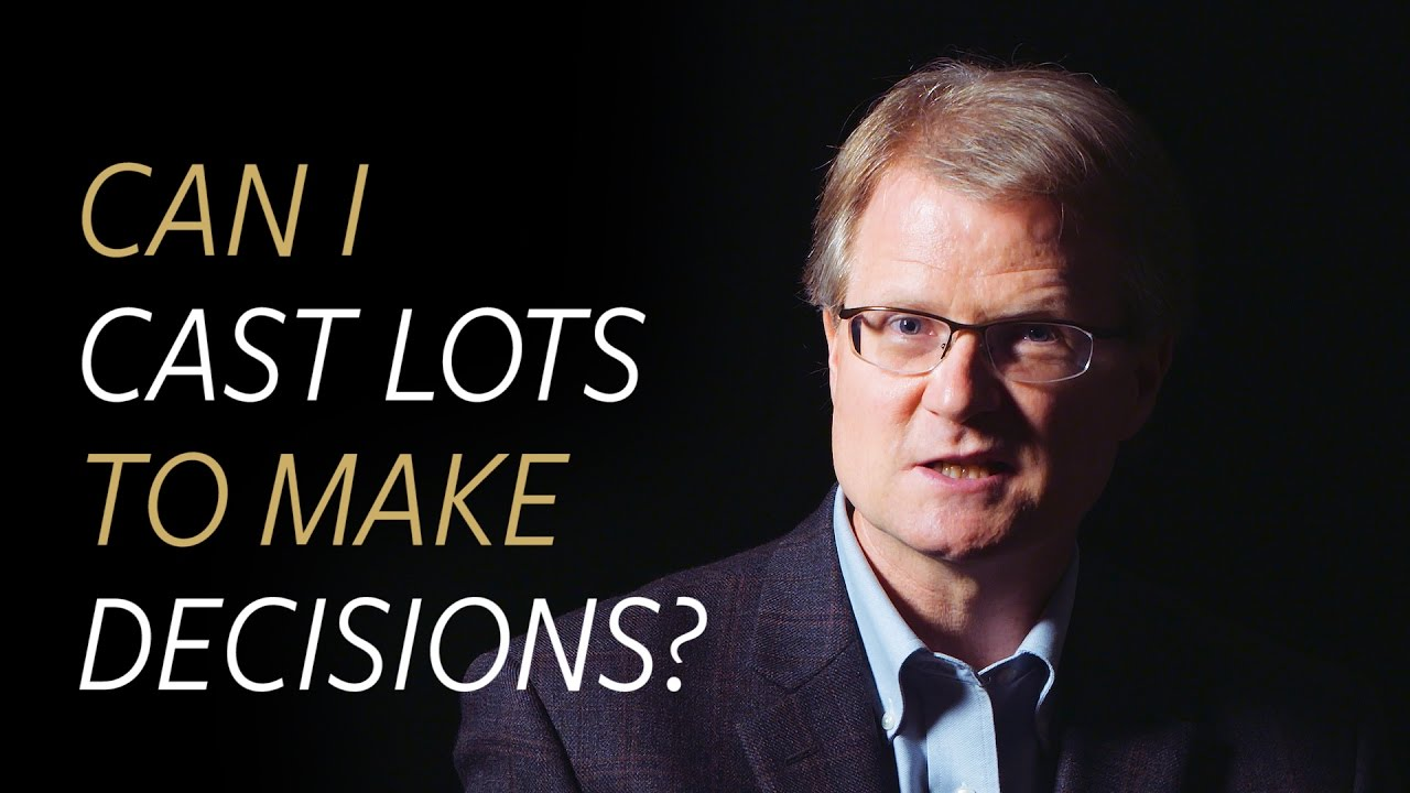Since God is sovereign, can I cast lots to make decisions?