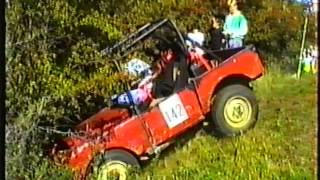 Staffs and Shrops Landrover Club - Great Moreton Hall Trial 1990
